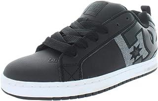 DC Shoes Men's Court Graffik Sq Skate Shoe, Delete
