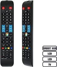 Gvirtue BN5901178W Remote Control CompatibleReplacement for Samsung UN46H6203AF, UN50H5203AF UN50H6201AF, UN50H6203AF, UN55H6203AF, UN55HU6830F, UN58H5202AF, UN60H6203AF, UN65H6203AF