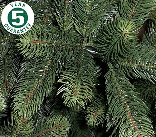 Best Artificial - Albero di Natale Artificiale, più di 1.100 Punte, per Uso Interno, Garanzia 5 Anni, Dimensioni: 180cm