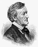 Richard Wagner (1813-1883). /Ngerman Composer. Wood