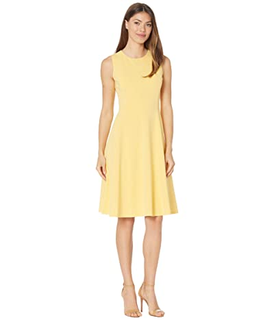LAUREN Ralph Lauren Crepe Fit-and-Flare Dress Women