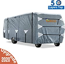Fits 29-32 Class C Motorhome Grey with 3-Ply Roof for Max Weather Protection XGear Outdoors Class C RV Cover