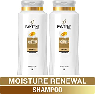 Pantene, Shampoo, Pro-V Daily Moisture Renewal for Dry Hair, 25.4 Fl Oz, Twin Pack