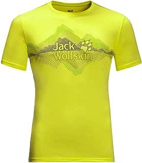 Jack Wolfskin Mens Crosstrail Graphic T-Shirt - Flashing Green - XXL