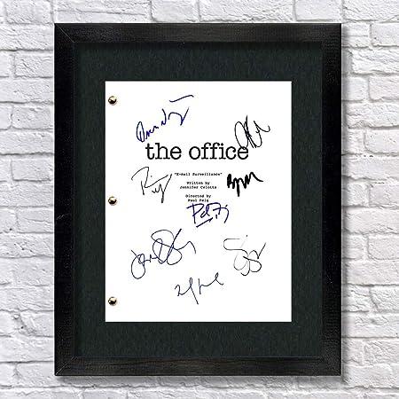 Amazon Com Seinfeld Tv Autographed Signed Reprint 8 5x11 Script Unframed Jerry Seinfeld Larry David Julia Louis Dreyfus Michael Richards Posters Prints