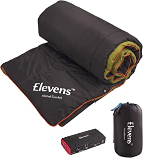 Battery Operated Heated Blanket Alternative to 4 Seasons Portable Sleeping Bag for Camping Hiking Travel
