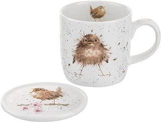 Royal Worcester Wrendale Designs Flying the Nest Mug & Coaster Set