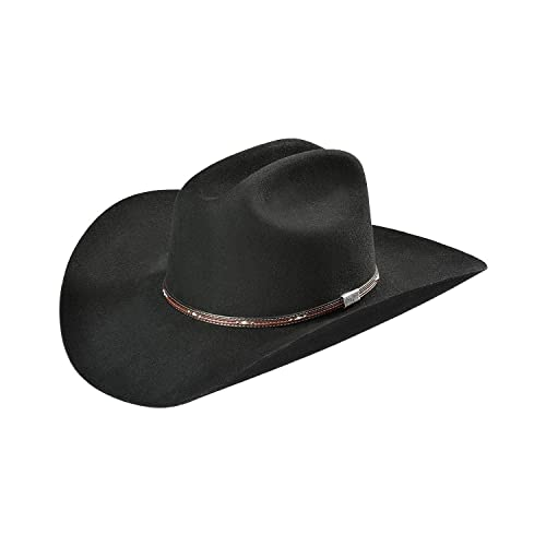 SFBNOE-944261 Silver Belly Stetson 6X Bar None Fur Felt Western Hat