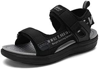 Boys Water Sandals Outdoor Hiking Adjustable Strap Sport...