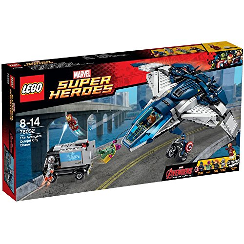 LEGO Super Heroes The Avengers Quinjet Chase, Multicolore, 76032