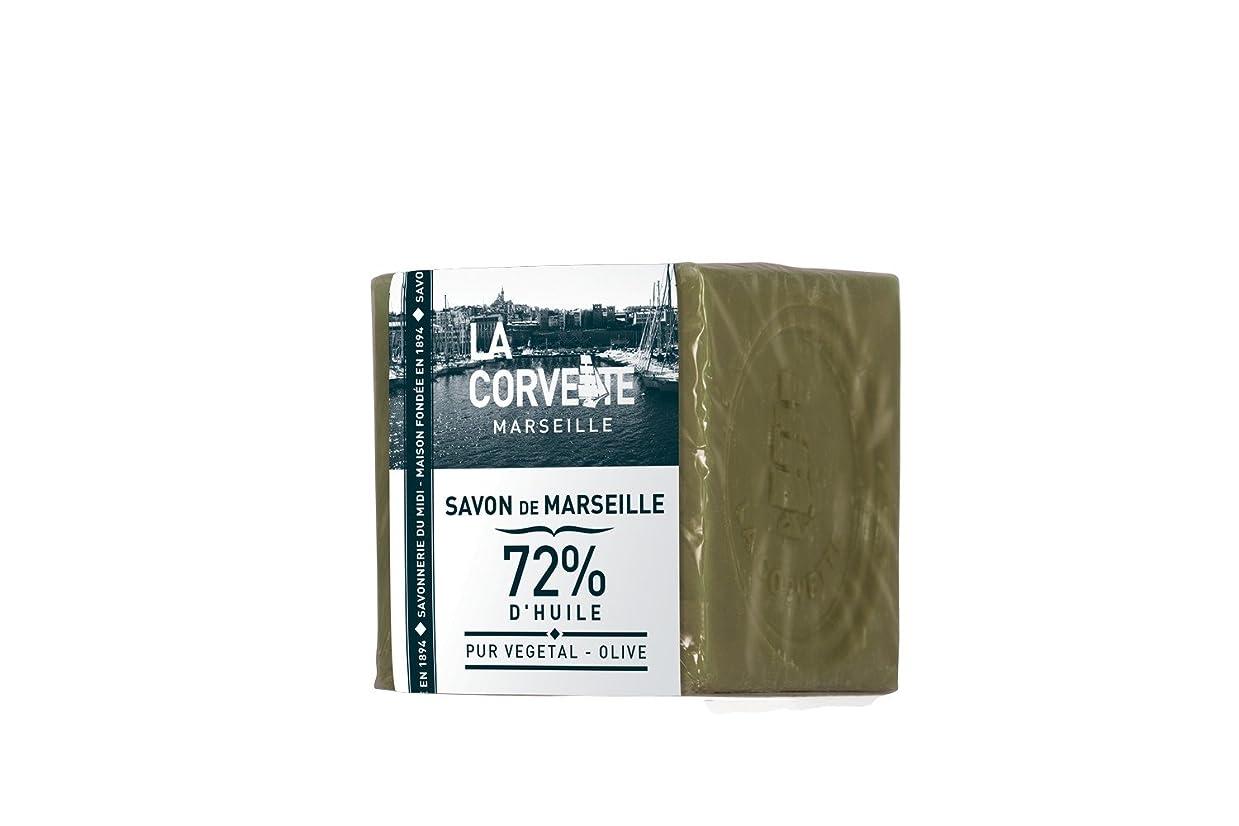 空虚シャッフル符号La Corvette(ラ?コルベット) サボン?ド?マルセイユ オリーブ 200g
