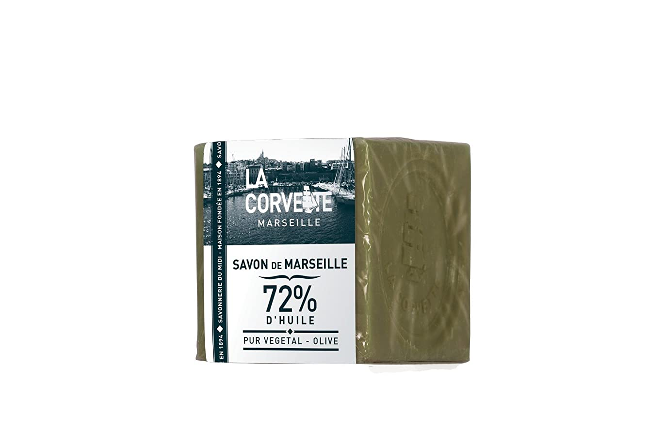 苦悩虫海峡La Corvette(ラ?コルベット) サボン?ド?マルセイユ オリーブ 200g
