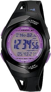 Casio STR-300-1CCF Reloj Digital para Mujer, Negro