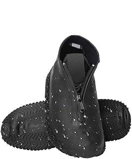 [AJACK] シューズカバー 防水 2019最新版 雨 雪 泥除け 靴カバー 最新防水ファスナー設計 シリコンシューカバー アウトドア防水靴カバー 滑り止め 梅雨対策 汚れ防止 通学通勤 自転車 登山 携帯便利 男女兼用 子供も適用