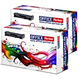 Office de Partner Premium Tóner con Chip Compatible con Brother tn2420TN de 2420hasta 3.000Páginas, Color 2X Toner Schwarz