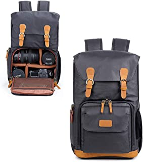 DSLR Camera Backpack for men and women, professional camera bag waterproof anti shock for canon nikon sony,Darkblue