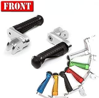 MC Motoparts MPRO Black 40mm Riser CNC Front Foot Pegs For Honda CBR 600RR 03-17 CBR1000RR 04-07 Fireblade 08-15