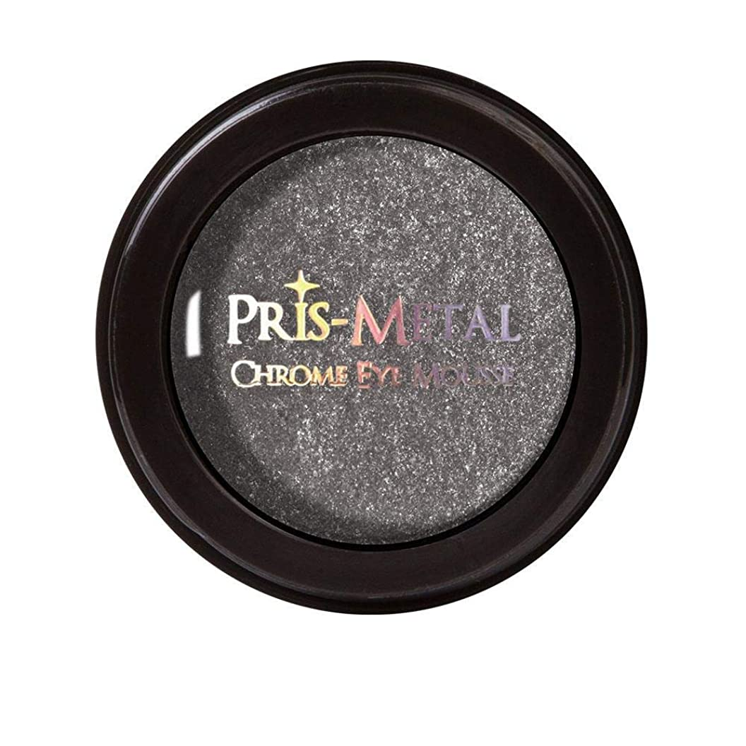 分離原子供給J. CAT BEAUTY Pris-Metal Chrome Eye Mousse - Gray Later (並行輸入品)