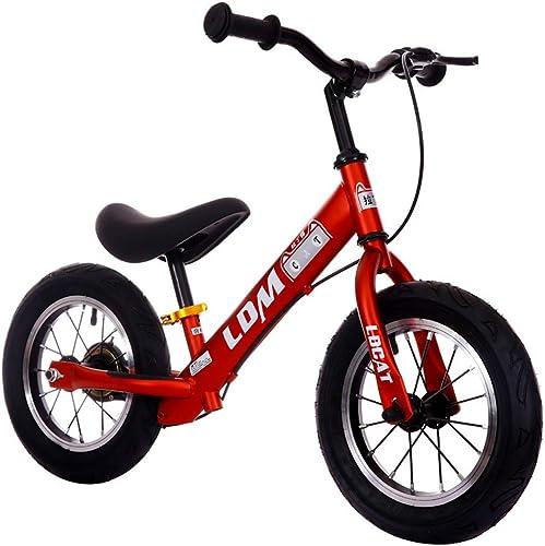 gran descuento GRXXX Patinaje Deslizante para Niños sin Pedales para para para bebés Equilibrio de Dos Ruedas Bicicleta multifunción 12 Pulgadas,rojo-12 Inches  100% precio garantizado