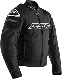 RST 2048 Tractech Evo R Textile Waterproof Sport Motorcycle Jacket - Black 44