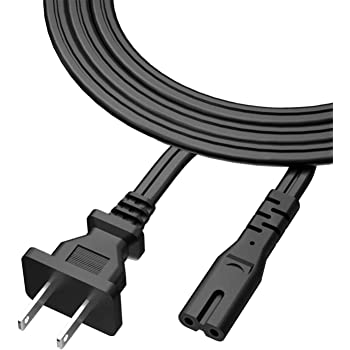 UN32M4500A 32-Inch 720p Smart LED TV NiceTQ Replacement 5FT US 2Prong AC Power Cord Cable for Samsung Electronics UN24M4500A 24-Inch 2017 Model