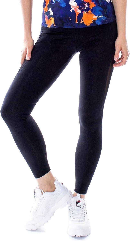 Desigual Women's 19SONK08BLACK Black Polyester Leggings