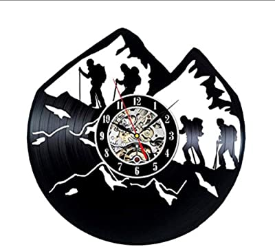 clockfc Reloj de Pared Reloj de Pared con Disco de Vinilo ...