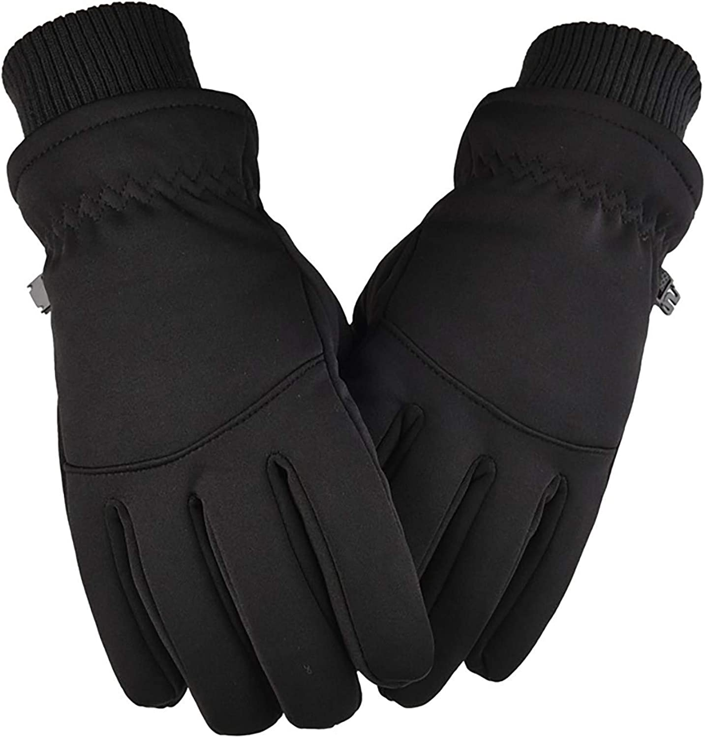 Winter Gloves for Men,Waterproof Thermal Gloves Cold Weather Gloves for Running Cycling Hiking Driving
