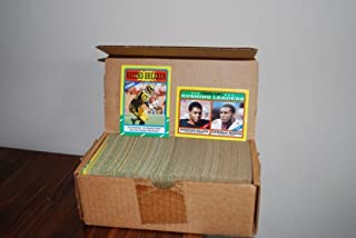 1986 Topps Football Factory Opened Complete Set 396 Cards Contains Jerry Rice Rookie Card