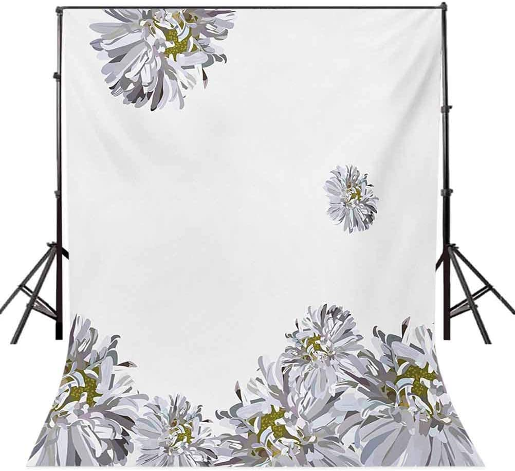 Waterfall 6.5x10 FT Backdrop Photographers,Double Waterfalls Flow to Natural Green Lake with Bushes and Grass Like Garden Print Background for Baby Shower Bridal Wedding Studio Photography Pictures