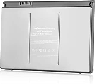 SKstyle Replacement Battery for Apple Macbook Pro 17-inch. A1189, A1151, A1212, A1229, A1261,fit with P/N: MA458, MA458*/A, MA458G/A, MA458J/A ,MacBook Pro 17