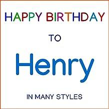 Happy Birthday To Henry - Metal