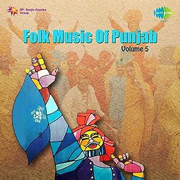Folk Music of Punjab, Vol. 5