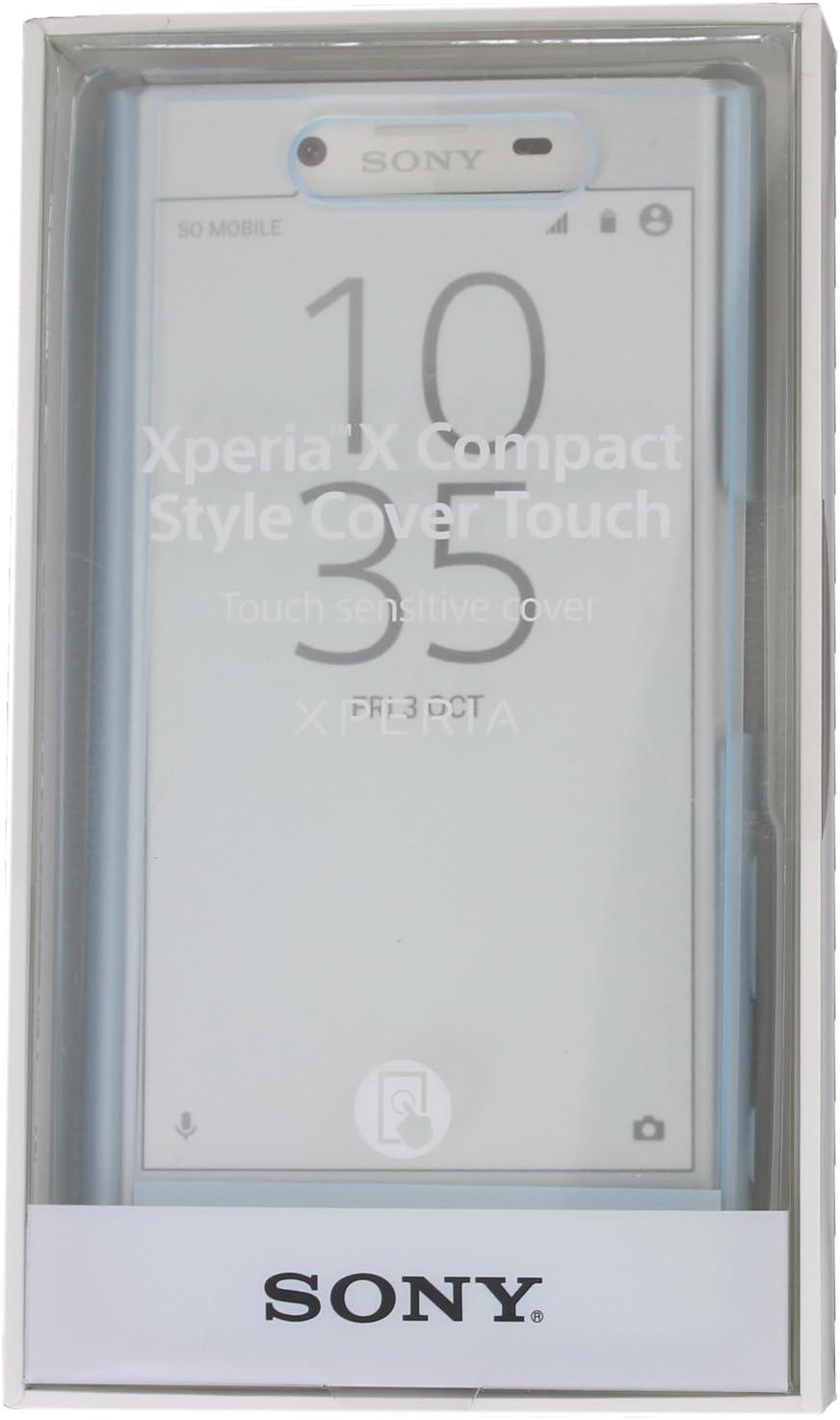 Sony SCR52 rosa Funda con solapa para Sony Xperia X