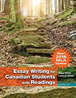 Essay Writing for Canadian Students (MLA Update) Plus MyLab Writing: Composition without Pearson eText -- Access Card Package (8th Edition) 0134819845 Book Cover