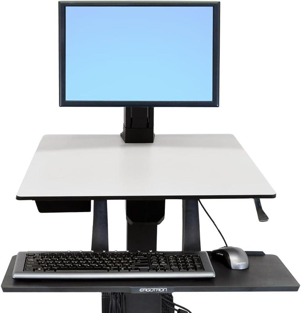 Ergotron WorkFit Single HD Monitor Kit (97-906),Black