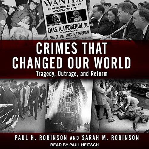 Crimes That Changed Our World audiobook cover art