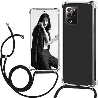 Note 20 Ultra 5G - Funda para teléfono celular compatible con Samsung Galaxy Note 20 Ultra 5G, transparente, TPU transpare...