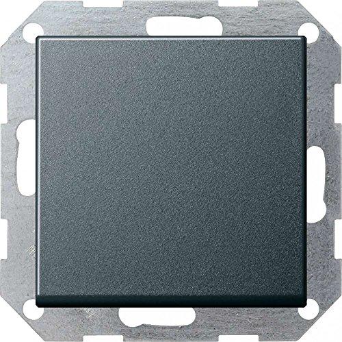 Gira 012628 Tast-Wechselschalter ST55 anthrazit, 012628