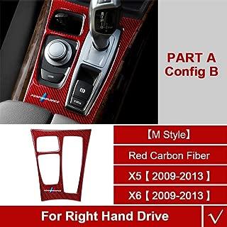 LUOERPI 6 Gear MT Shift Lever Pomello Leva Cambio Auto per Nissan Qashqai I J10 X-Trail 2006 2007 2008 2009 2010 2011 2012 2013 Qashqai II