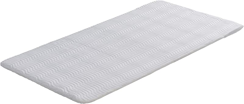 Signature Sleep Ultra Steel Bunkie Board Premium Metal Frame Design With Cover White Twin Size