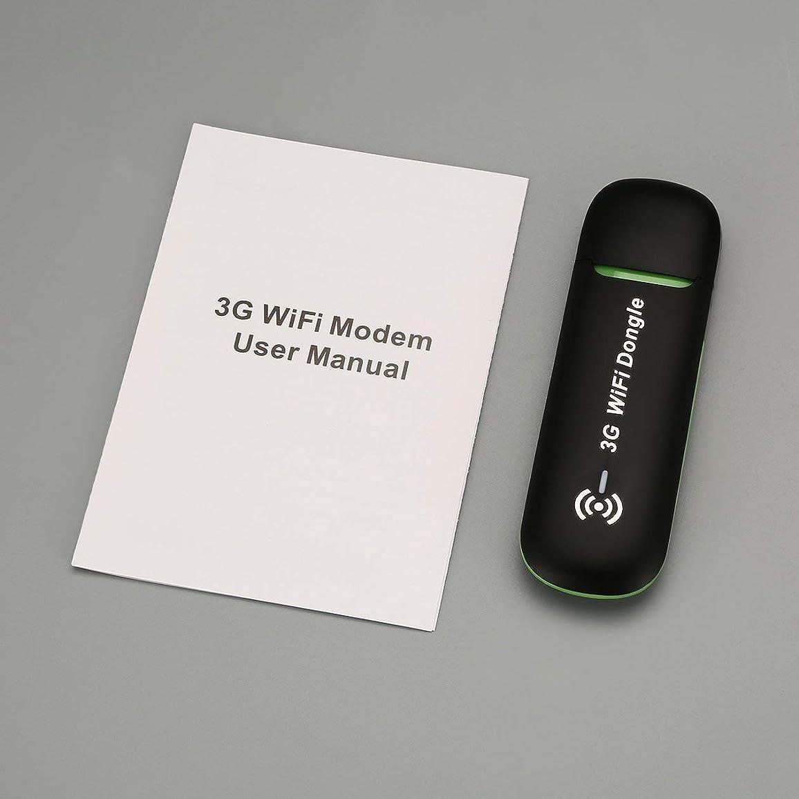 誕生大使シャーク3GモバイルWifiホットスポットカーUSBモデムユニバーサルブロードバンドミニWi-FiルーターSIMカードスロットを備えたMifi Dongle