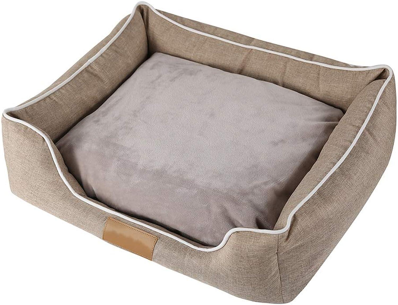 Rimmutabile Pet Litter, Pet Bed Dog Mat Puppy Cushion Oxford Cloth con Cushion Inverno rimovibile (Dimensione: M (55 * 45 * 16cm))