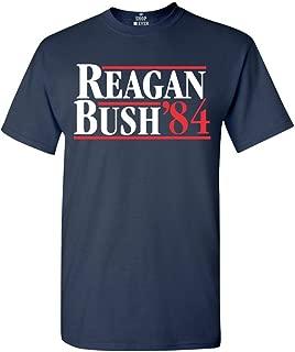 Reagan Bush 84 T-Shirt Presidential Campaign Shirts