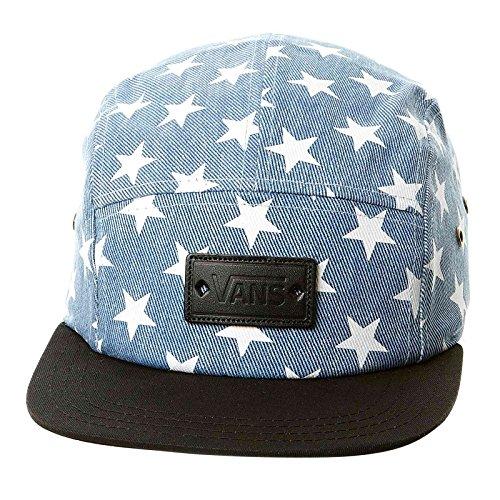 Vans Womens Willa Fashion Hat Washed Denim Blue Stars
