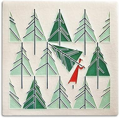 Charley Harper Perfect Tree Decorative Tile
