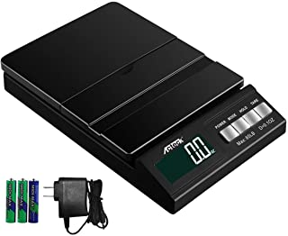 Acteck A-CE65 65LB Digital Shipping Postal Scale with AC Adapter, Black