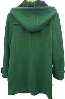 f87b0b88cb1 Angel Lily Oversized Toggle Wool Hooded Jacket Plus Size 1x-10x ...
