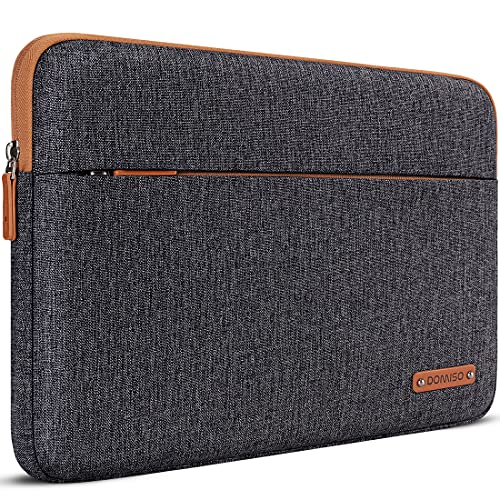 DOMISO Laptoptasche für 33,8 cm (13 Zoll) MacBook Air 2014–2017/13,3 Zoll ThinkPad L390 Yoga X380 Yoga/14,9 Zoll Lenovo Yoga C930 GLASS/14 HP EliteBook 820 G3 830 G5 840 G5 x36 0 G2 Dunkelgrau.
