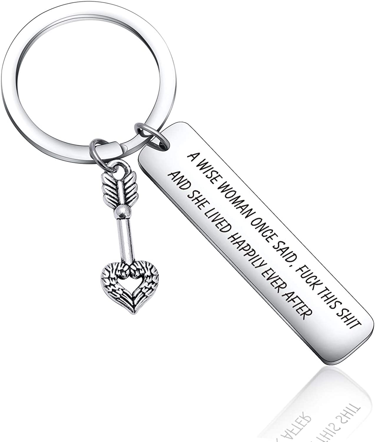 Women Motivational Gift Inspirational Keychain for Friends Coworkers Sister Christmas Keychain Birthday Jewelry